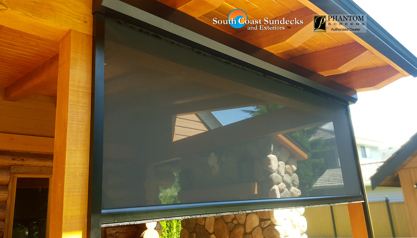 Phantom retractable screen door - South Coast Sundecks Is Your Answer To Remarkable Retractable Screens