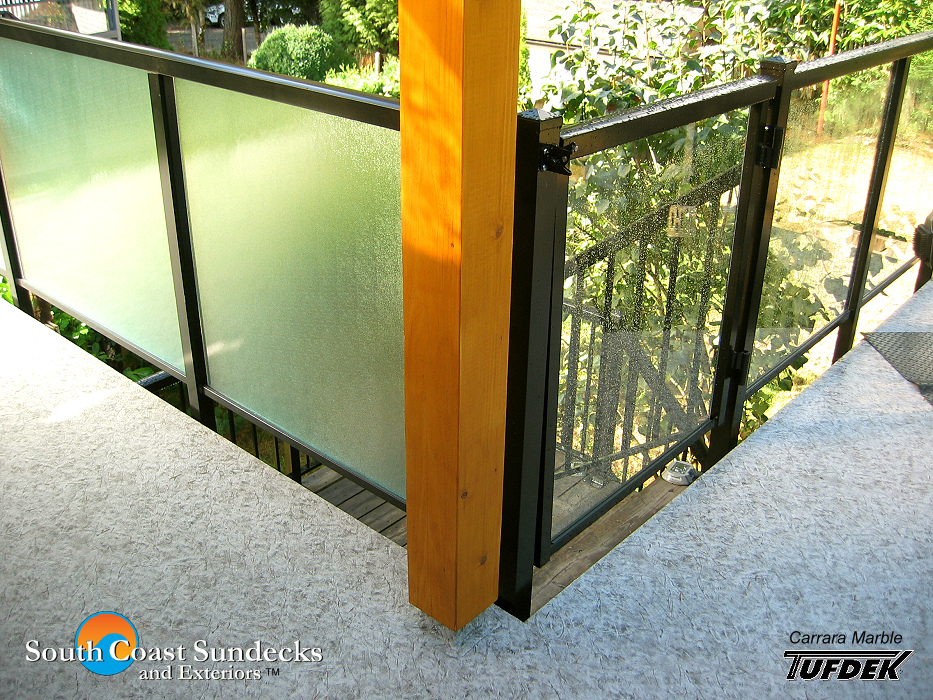 Featured New Glass Sundeck Cover Glass Privacy Wall