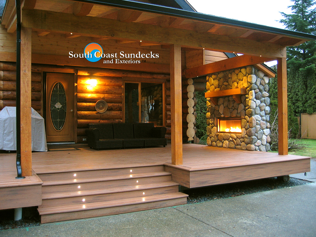 More Featured Vancouver Outdoor Living Space TrexPro Composite Deck Company P