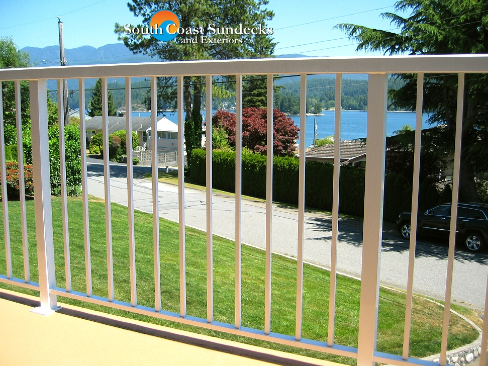 Remarkable custom aluminum deck patio railings supply