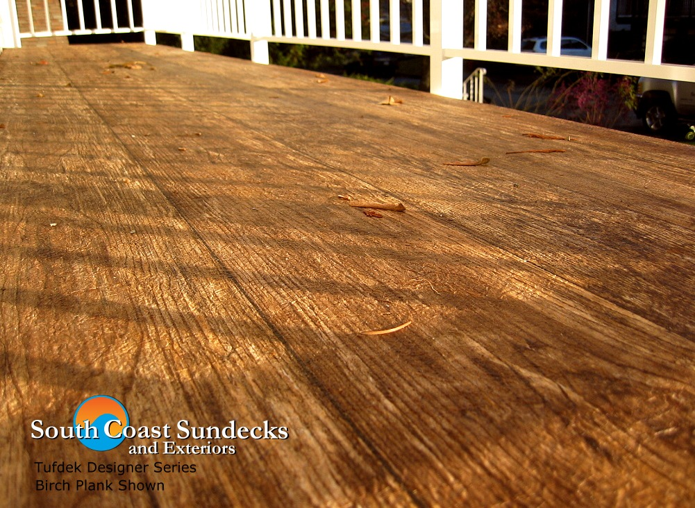 Whats new for vancouver outdoor living space decks for Vinyl flooring outside porch
