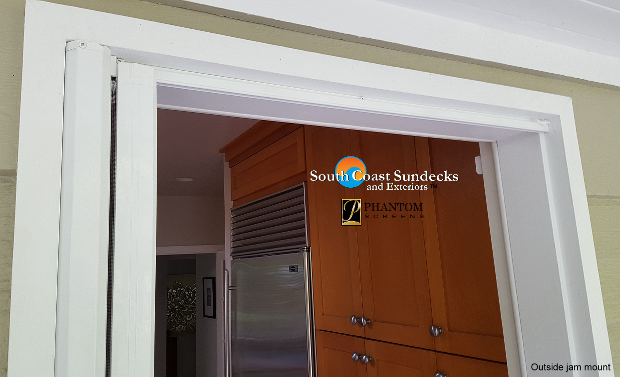 Remarkable Retractable Screens Doors Windows Decks